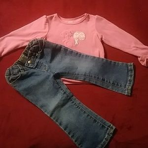 Other - 2 piece jean & top